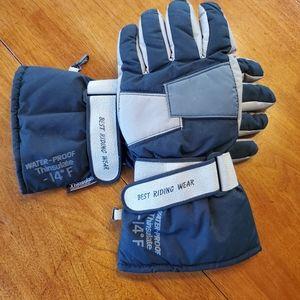 Thinsulate riding gloves. Moto line XL GUC